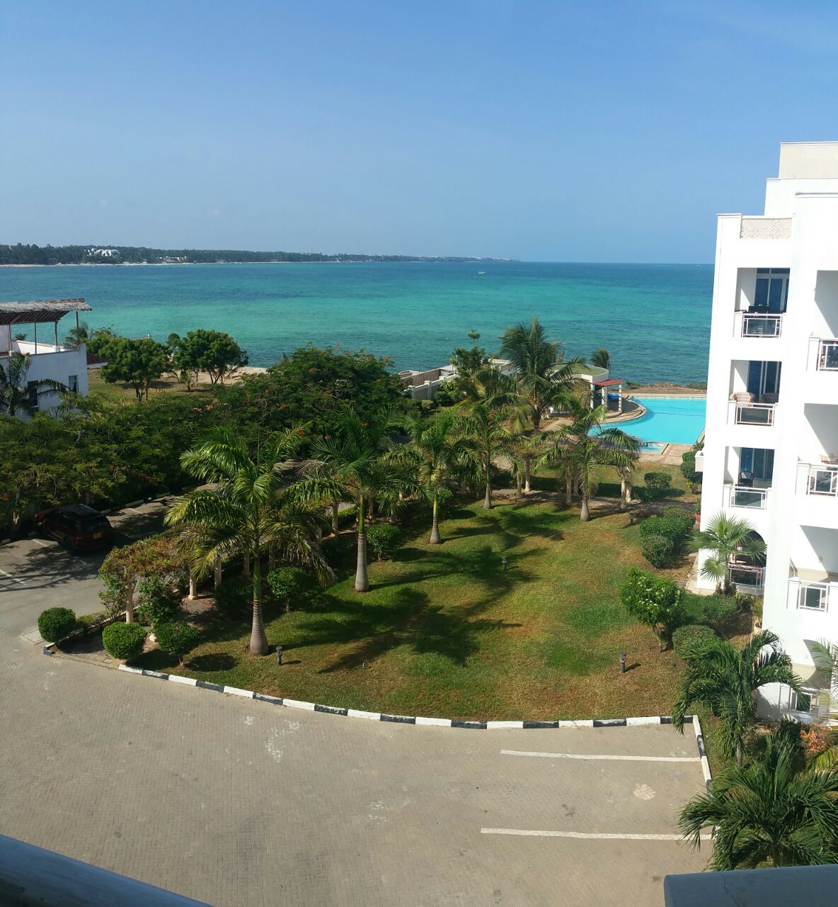 2 br Fully Furnished Beach Apartment For Rent in Nyali – Almasi