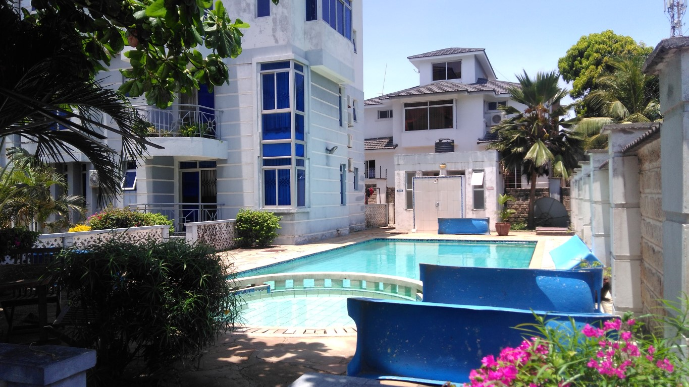 2 bedroom fully furnished apartments for rent in Nyali