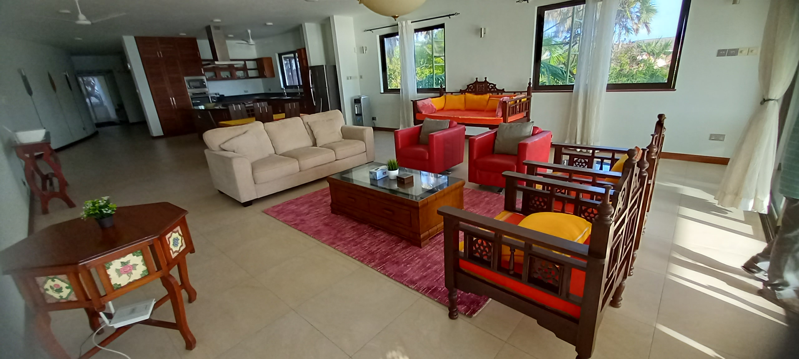 3 br ocean front apartments for Rent in Nyali