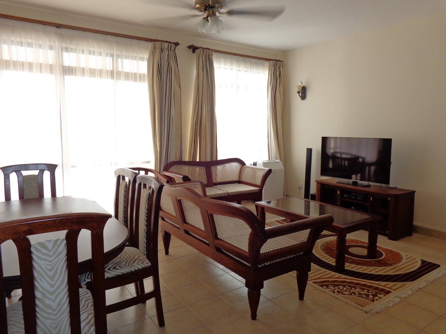 3br fully furnished apartment for rent in Nyali- Impalla suites.