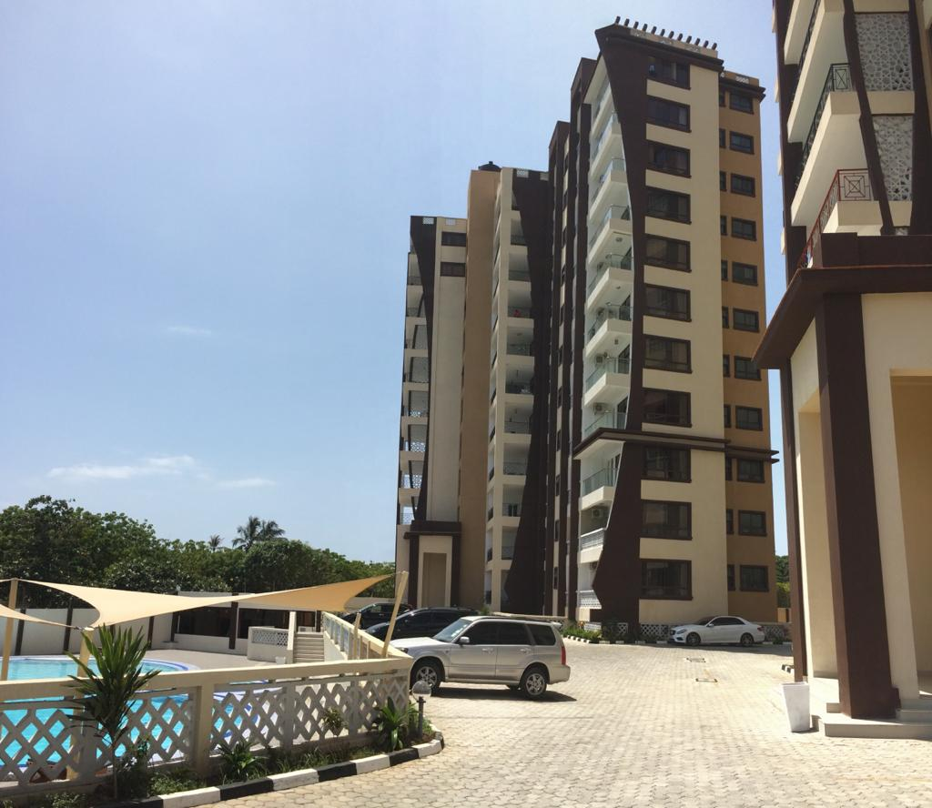 3br New apartments for sale in Nyali, second row from the white sandy Beach.