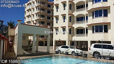 2 br FURNISHED apartment for rent in Nyali, near Naivas & City Mall