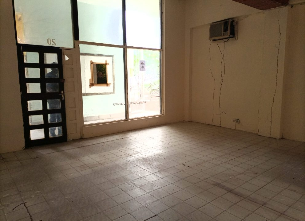 office/shop space 360 sq.feet (ground floor) for rent in Nyali next to City Mall Mombasa, Kenya
