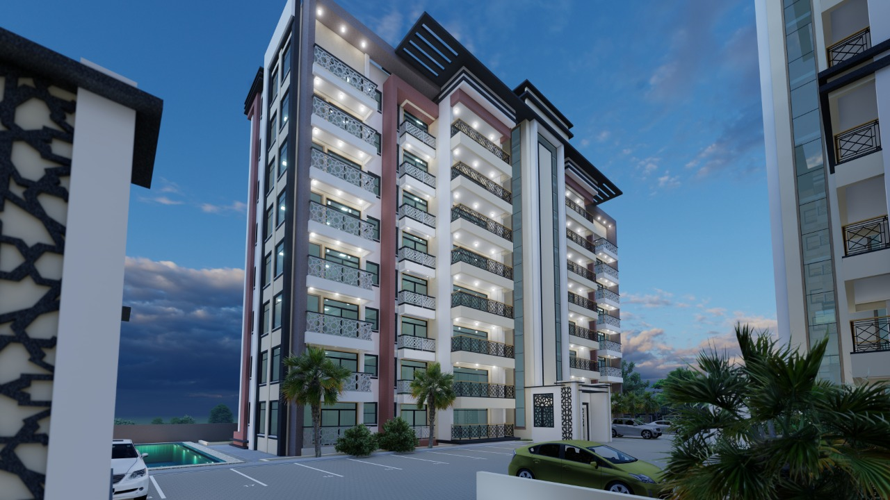 3br off plan Apartment for Sale in Nyali -Typical Apartments.