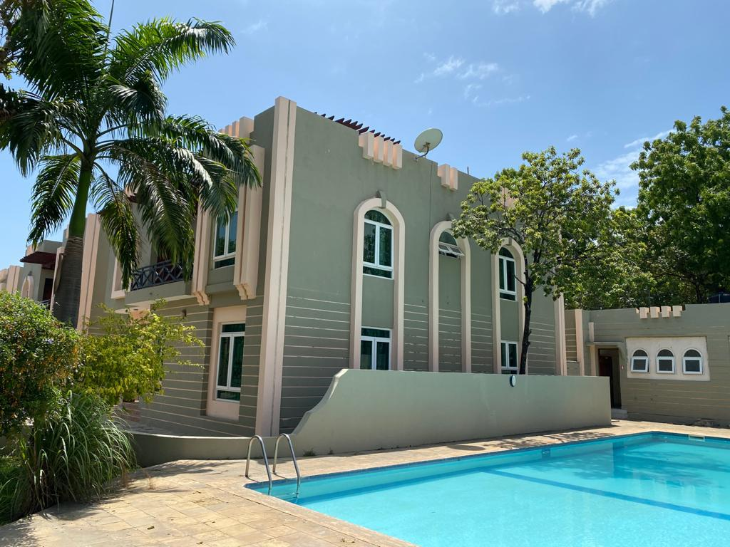 5 bedroom furnished house for rent in Nyali (Star Villas)