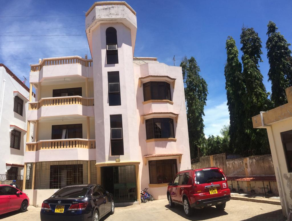 1br unfurnished apartment for rent in Nyali behind citymall