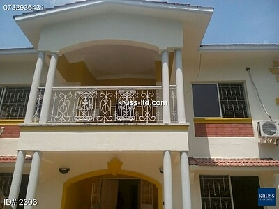 4br Maisonette for rent in Nyali
