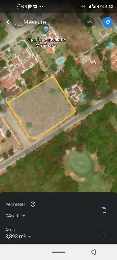 A plot for sale in Nyali